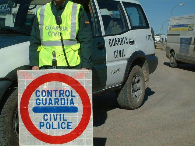 Control de la Guardia Civil | Archivo | Europa Press