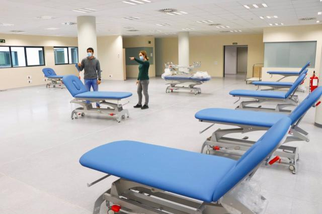 TOLEDO | Completado el traslado del servicio de Rehabilitación al Hospital Universitario