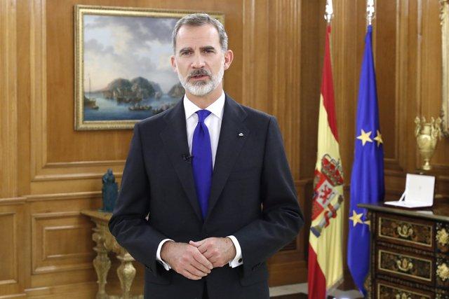 ESPAÑA   El Rey en cuarentena tras el contacto con un positivo