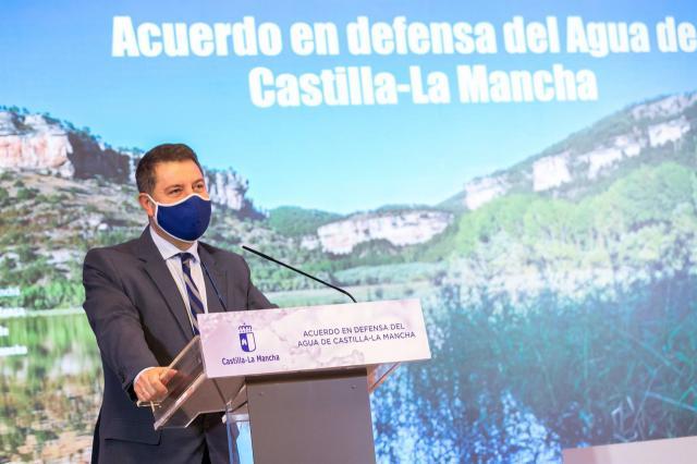 CLM | Acuerdo histórico en defensa del agua