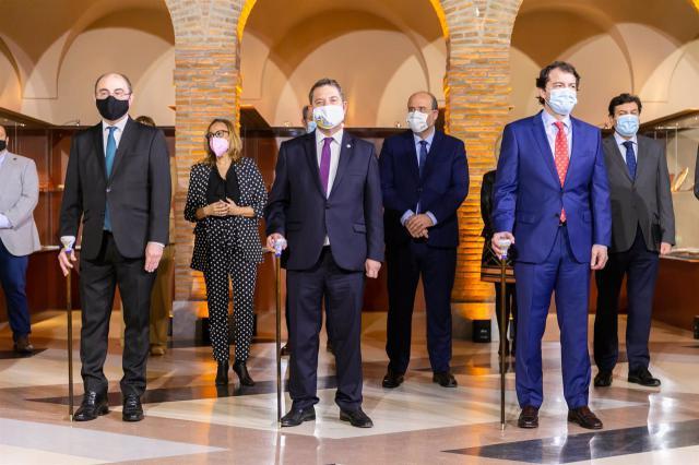 EN TALAVERA | Cumbre entre CLM, CyL y Aragón: sanidad, despoblación y fondos UE
