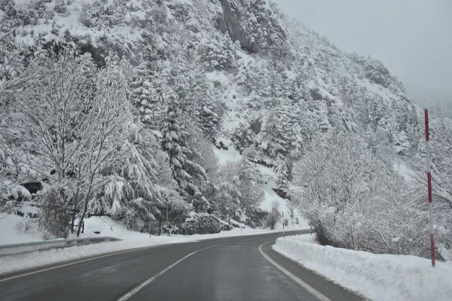 CLM | 29 incidencias por nieve y hielo desde esta mañana