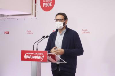 El secretario de Organziación del PSOE, Sergio Gutiérrez | Archivo
