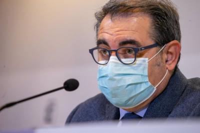 El consejero de Sanidad, Jesús Fernández Sanz, - JCCM