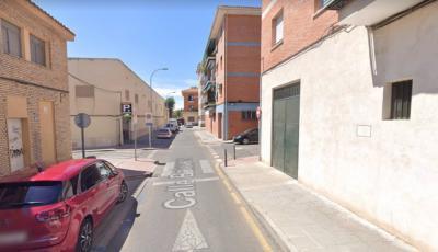 Imagen de la calle Baleares de Toledo en Google Street View