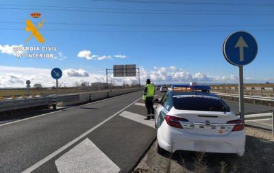 TRÁFICO | Investigan a un conductor de 79 años por circular en sentido contrario