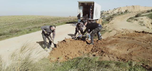 'CUÉNTAME' | La Junta estudiará si ha habido daños en Barrancas de Burujón tras la grabación