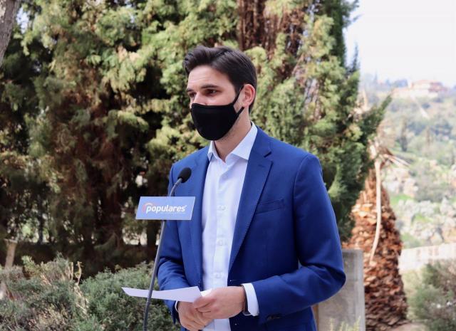 El vicesecretario de Comunicación del PP de Castilla-La Mancha, Santiago Serrano - PP