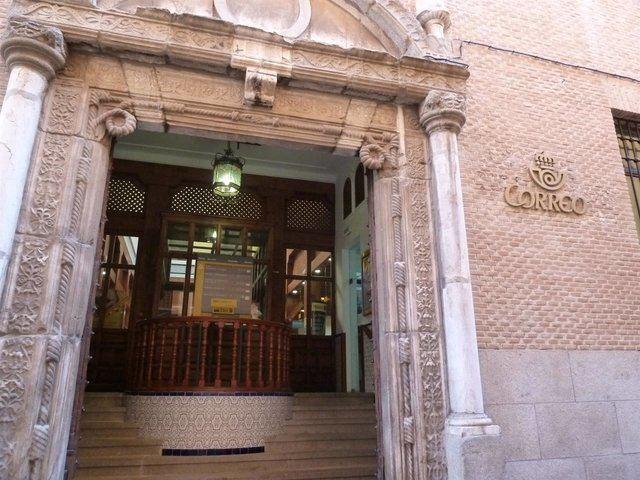 Oficina de Correos en Toledo - Archivo - Europa Press