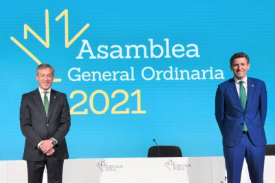 EUROCAJA RURAL | La Asamblea General aprueba por unanimidad las cuentas
