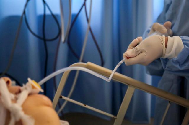 Paciente de coronavirus. - Fadel Dawood/dpa