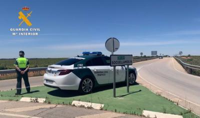 Pillan a un toledano conduciendo a 182km/h en un tramo de 90