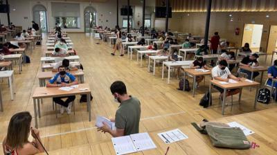 El 81,50% de los estudiantes aprueba la EvAU extraordinaria