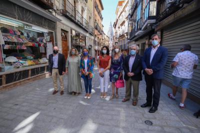 Inaugurada la reforma de la calle Comercio del Casco