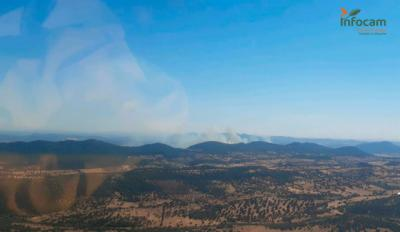 Última hora sobre los incendios de Almadén, El Bonillo y Tobarra
