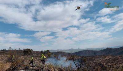 Incendio en Liétor (Albacete) - INFOCAM