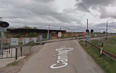 Trasladado al hospital de Talavera tras ser golpeado por un tren