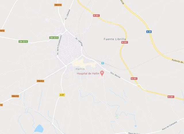 Heridas seis personas tras el vuelco de una furgoneta en Hellín