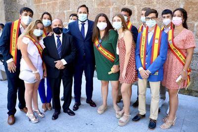 Núñez reivindica las fiestas populares como motor económico de las zonas rurales