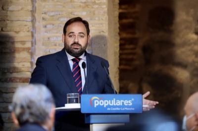El presidente del PP Paco Nuñez en desayuno con los medios - PP - Archivo