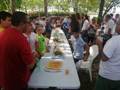 Paella solidaria en el barrio Nuestra Señora del Prado
