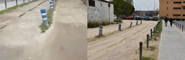 TALAVERA| El Ayuntamiento acondiciona el aparcamiento junto al Hospital