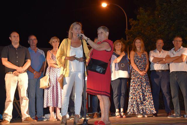 Montse Muro, en el pregón de Puerta de Cuartos