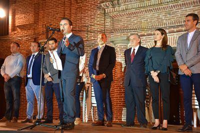 Josechu pregona las Fiestas del barrio de San Jerónimo de Talavera