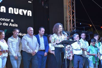 Diana López, diputada regional, pregonera en Talavera la Nueva