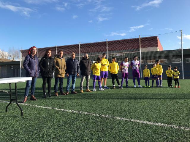 Presentación de la Escuela de Fútbol de Patrocinio