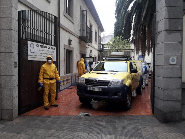 TALAVERA | Sigue la limpieza y desinfección en las residencias de mayores