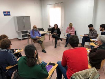 Podemos-CLM se reúne con XTalavera y Ganemos