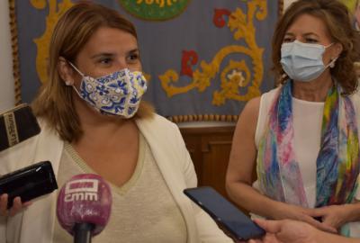 TALAVERA | Tita García: 'Seguiremos trabajando para ayudar a los colectivos más necesitados'