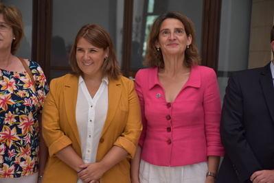 """Tita García pide """"valentía"""" al Ministerio para la Transición Ecológica para poner fin al """"expolio"""" del Tajo"""