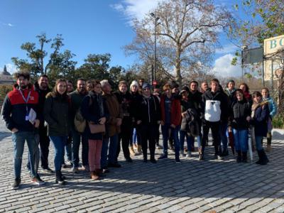 50 participantes en la ruta monumental y paseo en barco a Aranjuez