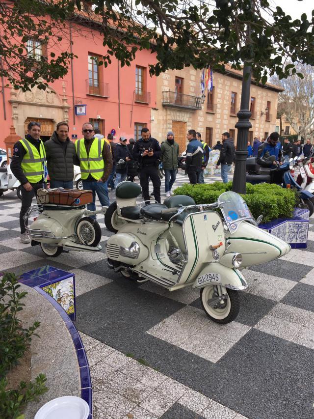 Éxito participativo en la Scooterada de Talavera y comarca