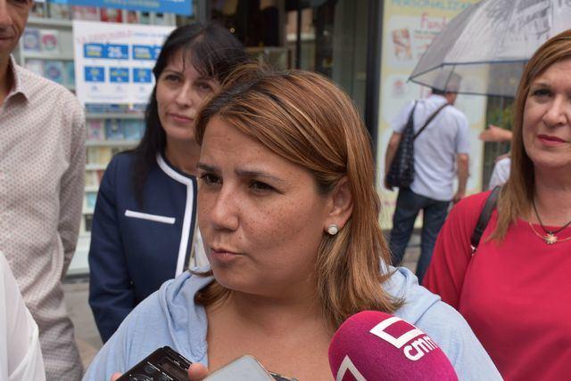 La alcaldesa de Talavera.