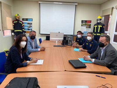 TALAVERA | Sigue avanzando el trabajo para la creación del parque supramunicipal de Bomberos