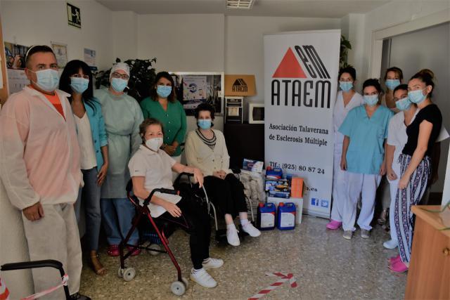 TALAVERA | El Ayuntamiento colabora con la distribución de material