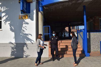 TALAVERA | Tita García agradece a la Policía Nacional su trabajo durante la pandemia