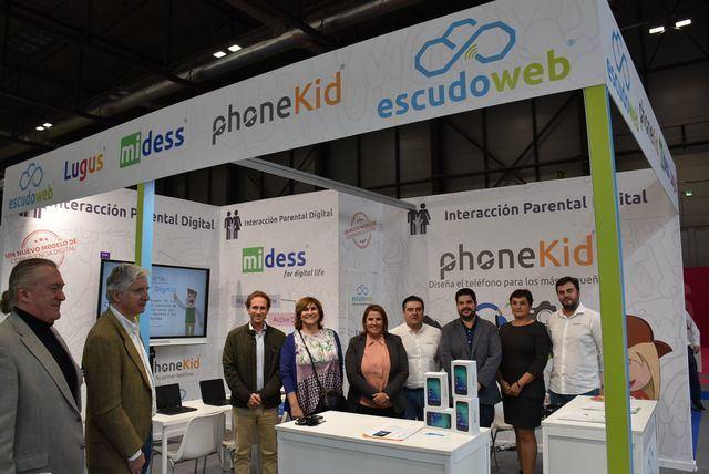 Tita García pone en valor el potencial internacional de la empresa talaverana 'Escudo Web Software'