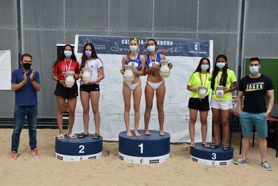 Éxito en el Campeonato Regional de Vóley Playa en las instalaciones de 'El Prado'