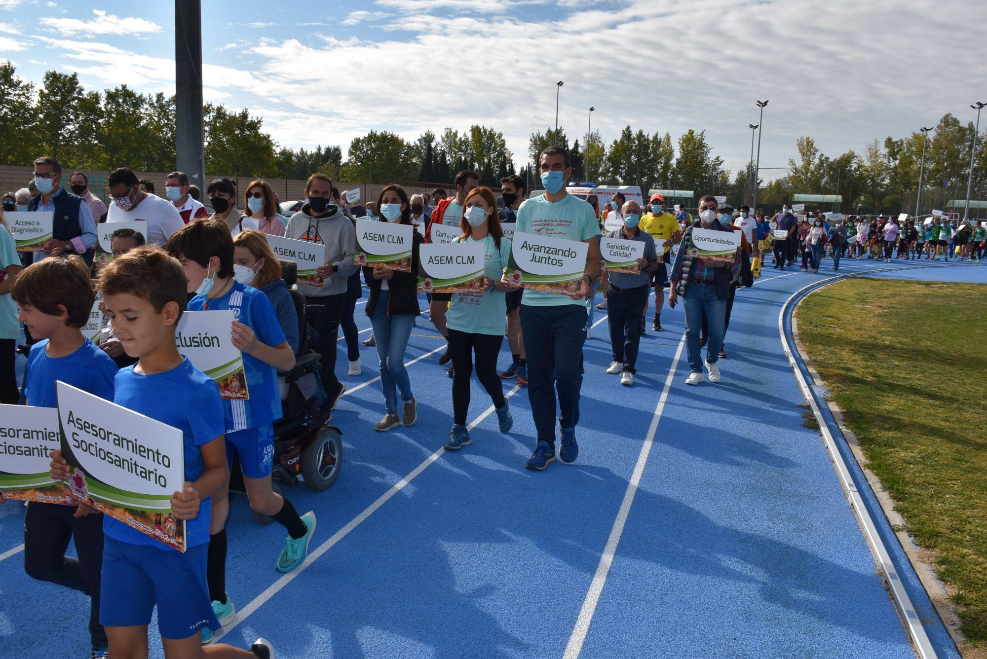 Así ha sido la XV edición de la Carrera y Vuelta Solidaria 'Avanzando Juntos'