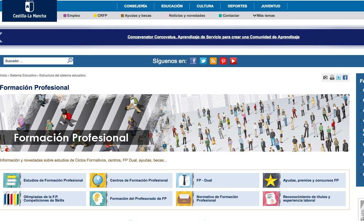 La Junta Autoriza Nuevos Ciclos De Formación Profesional En