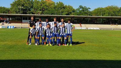 El Getafe CF se impone al CF Talavera por la mínima