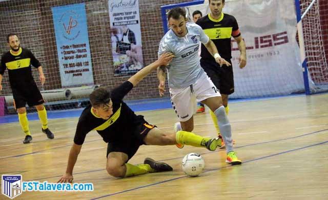 El Soliss FS Talavera regresa con fuerza y golea al Mejorada FS