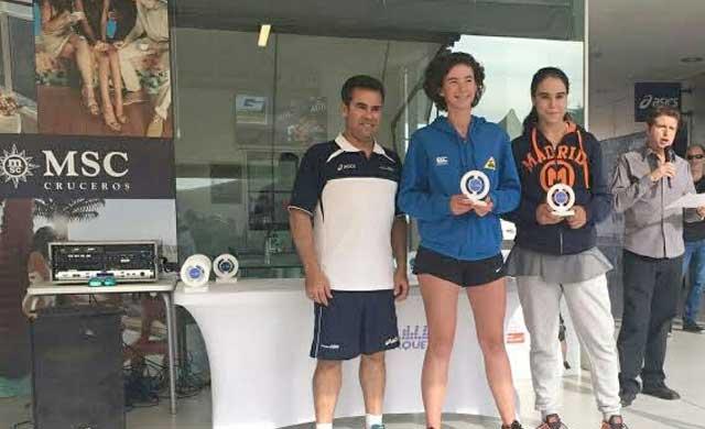 La joven tenista talaverana Ángela Juárez, número 4 de España