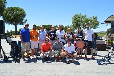 El torneo Decathlon se estrenó en Palomarejos Golf