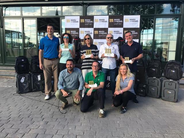 Palomarejos reune a los aficionados al golf en el torneo Mahou San Miguel Golf Club 2018