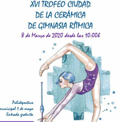Talavera acoge este domingo el Trofeo Ciudad de la Cerámica de Gimnasia Rítmica